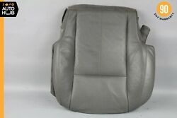 07-10 Mercedes W216 Cl550 Bottom Lower Seat Cushion Front Left Gray Oem