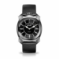 Gaga Milano Frame_one Unisex Quartz Watch Black Ceramic