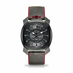 Gaga Milano Frame_one Unisex Quartz Watch Skull Grey