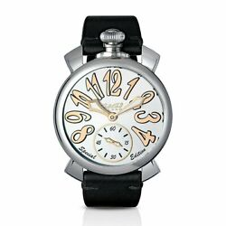 Gagà Milano Manuale Unisex Mechanical Watch 48mm Steel Special Edition