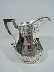 Durgin Water Pitcher - 1900 - Antique Large Heavy - American Sterling Silver