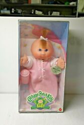1995 Cabbage Patch Kid Baby Doll Roberta Lynette Pink Outfit