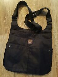 Mosey by Baggallini Crossbody Shoulder Nylon Travel Bag Purse NWOT BLACK $30.00