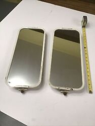 Lot Of 2 Pair Vintage Truck Pickup Camper Extended Outside Mirror 17andrdquo X 7andrdquo