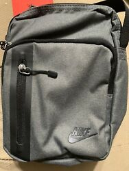 Nike Shoulder Bag Crossbody Travel Bag Unisex NWT Gray BA 5268 021 $19.99
