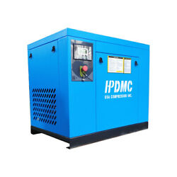 7.5 Hp Rotary Screw Air Compressor 3 Phase 230v Fixed Speed 125psi 29-25cfm