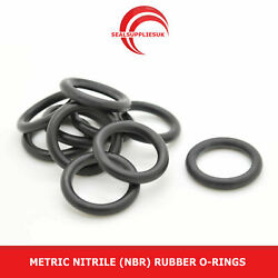 Metric Nitrile Rubber O Rings Nbr 3.5mm Cross Section 61mm-90mm Id -uk Supplier