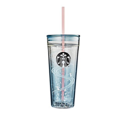 Starbucks Korea 2020 New Year Happy Mouse Cold Cup Glass 591ml + Dhl