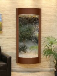 Pacifica Waters-antique Bronze-silver-mirror Wall Fountain New