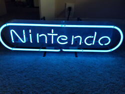 Nintendo Neon Vintage Rare Store Display Sign Working Perfectly Model Nesm04rb