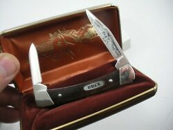 Pre Date Code Buck 709 Yearling Knife In Box Never Used Limited Edition