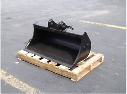 New 36 Ditch Bucket For A New Holland E35b With Coupler Pins