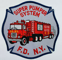 Fdny Super Pumper System New York City Fire Department Ny Patch E2
