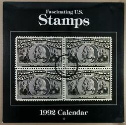 Dealer Dave Stamps 1992 Large-size Calender, Large Reproductions Stamp Classics