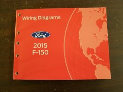 Oem Ford 2015 F150 Truck Shop Manual Wiring Diagram Book Nos Pickup F-150