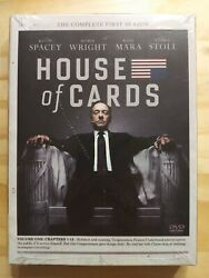 House Of Cards The Complete First Season Dvd. Andnbspvolume One Chapters 1-13