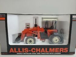 Allis Chalmers Highley Detailed 6060 4wd W Loader 1/16