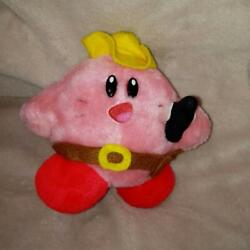 Kirby's Dream Land 1993 Takar Vintage Novelty Collectible Plush Toy F/s From Jpn