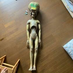 Mars Attacks Life-size 5.24 Ft Figure Collectible Vintage Free Shipping From Jpn