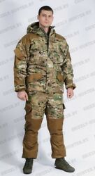 Rus Army Gorka 5 Winter Multicam Rip-stop For Extreme Cold