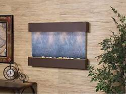 Reflection Creek-woodland Brown-black Featherstone Wall Fountain New