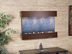 Reflection Creek-copper Vein-black Featherstone Wall Fountain New