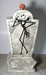 Disney Nightmare Before Christmas Jack's Tomb Cookie Jar New, Perfect Condition