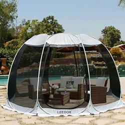 Pop Up Portable Bubble Tent House Weather Pod Camping Gazebos For Patio 12x12