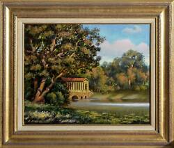 Erik Freyman, The Old Lake, Acrylic On Canvas, Signed Lower Left And Titled Vers