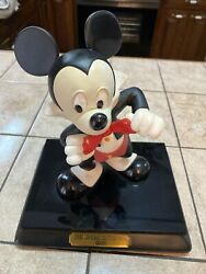 Wdcc The Mickey Mouse Club 1955 Artist Signd Mickey Mouse Figure