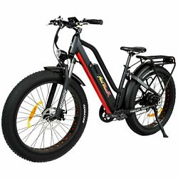 26 Electric Bike Bicycle 750w Addmotor M-450 P7 Suspension Commuter Lcd Display