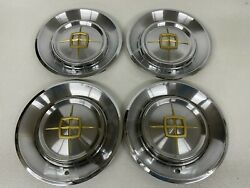 1960 Lincoln Continental Mark V Hubcaps Hub Caps Wheel Covers 60 |set Of 4