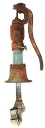 Antique Myers Pat 1912 Cast Iron Water Hand Water Pump Cistern Well