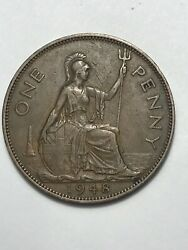 1948 One Large Penny Great Britain Km845