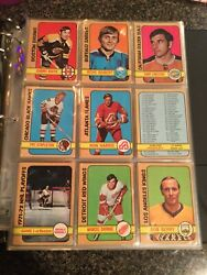 1972-73 Opc O-pee-chee Complete Set 341/341 | Mixed Mid Grade | Arn670466q