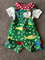Little Bird By Jools Oliver Baby Romper Dungarees Outfit Up To 1 Month