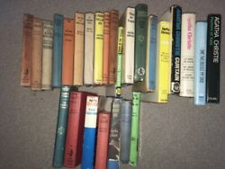 26 Agatha Christie Books First Editions Collins Crime Club Hb Job Lot Collection