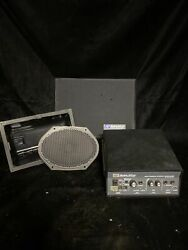 Amplivox S805a Amplifier Speaker, And Podium Grill