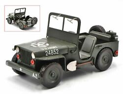 New 112 Scale 1940 Jeep Willys Mb Diecast Alloy Model Cars Vintage Toy By Jayla