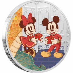 Niue 2020 Year Of The Mouse Mickey Longevity Disney Silver Coin 999 1 Oz