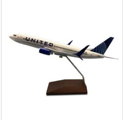 New Livery United Airlines Boeing 737-800 Business Class 1/144 Scale Model Plane