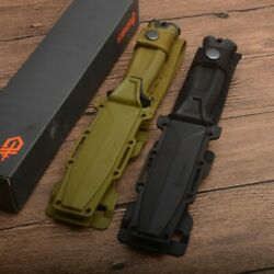 Genuine Gerber Strong Fixed Blade Knife Camping Hunting Tactical Survival