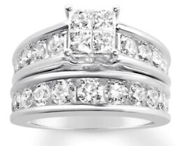 Authentic Rogers And Hollands Engagement Wedding Set 3k