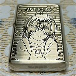 Vintage Authentic Zippo Lighter Clannad After Story New Unused
