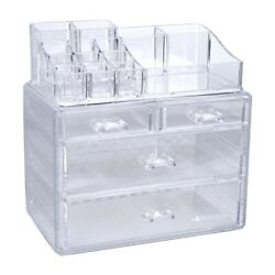 Drawer Clear Jewelry Cosmetic Organizer Makeup Case Storage Holder Box Makeup $15.03