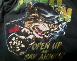 Vintage 1989 Poison Open Up And Say Ah Xl Shirt Goat Glam Talk Dirty cool