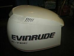 Evinrude Etec 300hp Outboard Top Cowling