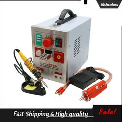 S709a 2 In 1 220v Battery Pulse Spot Welder And Soldering Station With Welding Pen