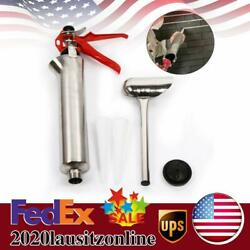 Mortar Pointing Grouting Gun Sprayer Applicator Tool +2 Nozzle For Cement