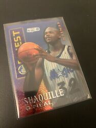 1995 - 1996 Topps Finest Shaquille Oand039neal Mystery Borderless M22 Shaq